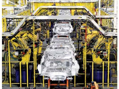 Smooth Cruising For Auto Industry.