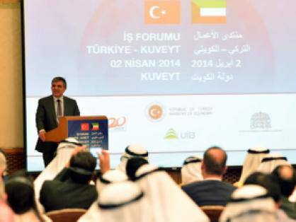 Turkey-Kuwait Business Forum.