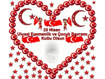 We celebrate the opening of the Grand National Assembly of Turkey of 94 years and our April 23 National Sovereignty and Childrens Day with our most sincere feelings.