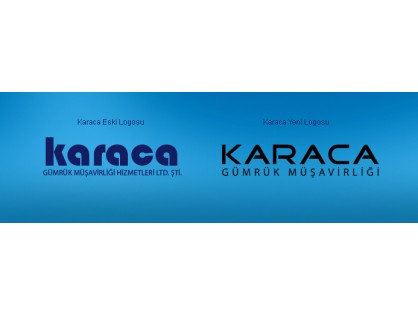 The logo design of Karaca Customs Brokerage was changed.
