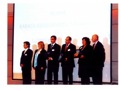 "Karaca was awarded in 2006 with ""Supplier Quality Award 2002"""