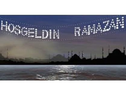 We Wish The Whole Muslim world A Very Happy Ramadan..